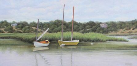 Kenneth Hawkey, 'Boats on the Pamet', 2020
