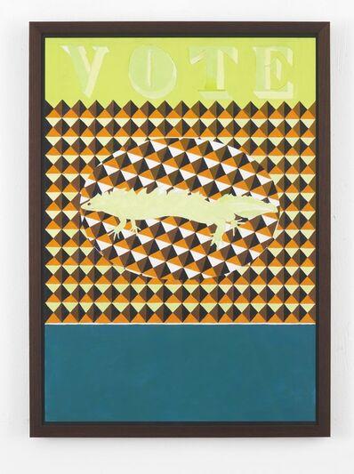 Lubaina Himid, 'Ballot Paper', 2014