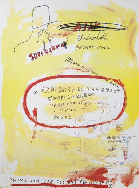 Jean-Michel Basquiat, 'Supercomb'