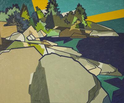 Easton Pribble, 'Rock Shore, Stonington, ME', 1971