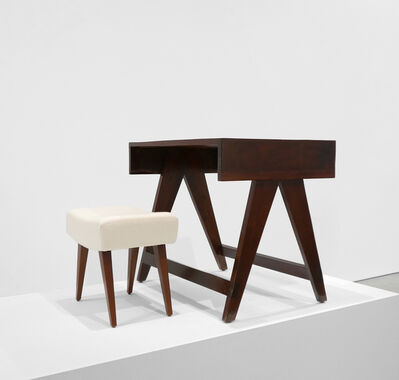 Pierre Jeanneret, 'Desk & Stool from the City of Chandigarh, India', 1950-1959