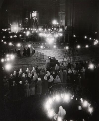 Brassaï, 'Le Souleymanie pendant la Fete du Ramadan, Hagia Sofia, Istanbul', 1953