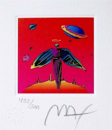 Peter Max, 'Angel with Saturn', 2001