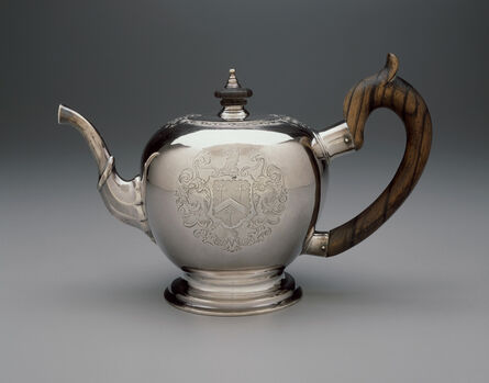 Jacob Hurd, 'Teapot', 1730-1735