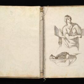 Antoine-Léonard Dupasquier, '[Sketchbook of Roman antiquities]', 1779