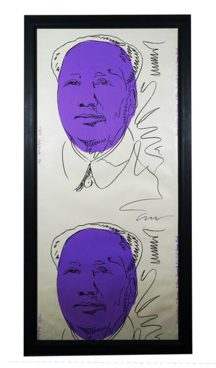 Andy Warhol, 'Double Mao', 1972