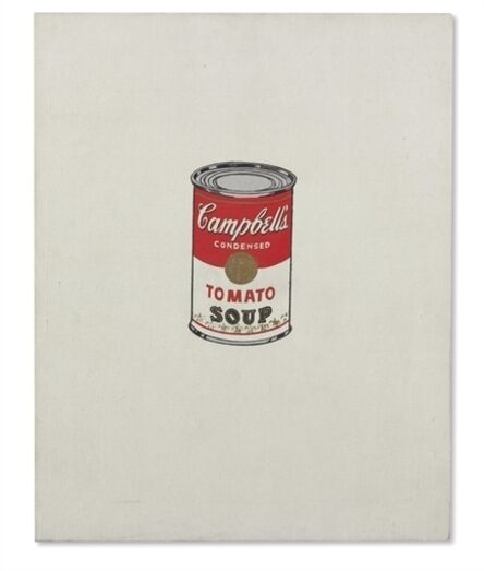 Andy Warhol, 'Small Campbell's Soup Can (Tomato) [Ferus Type]'