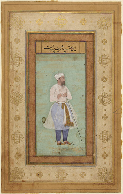 'Portrait of Sharif [ . . . ] from the Salim Album', ca. 1600