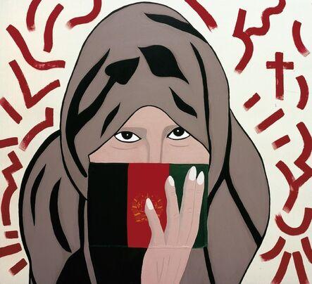 "Ronnie Cutrone, 'Cell Girl ""Afghanistan""', 2006"