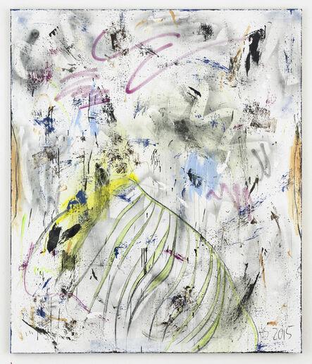 Henning Strassburger, 'Mounted trees, muddy kneez (Alex) ', 2015