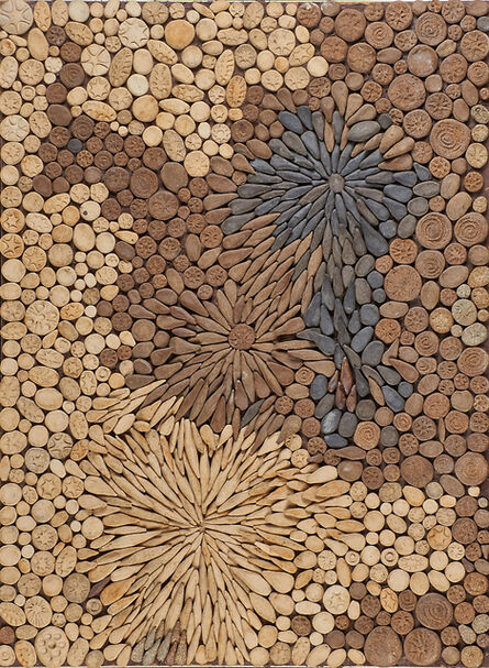 Fred Carlton Ball, 'Two mosaic panels and twenty-eight mounted patterned tiles, USA'