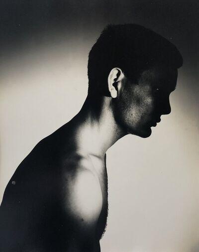 George Platt Lynes, '[Chuck Howard in Profile]', ca. 1950