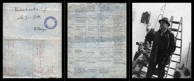 Bruce Eves, 'Work # 971-(02): Dossier # 02 (Violence and Behaviour Workshop, Documenta VI)  (triptych)', 2016