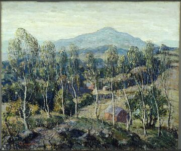 Ernest Lawson, 'New England Birches'