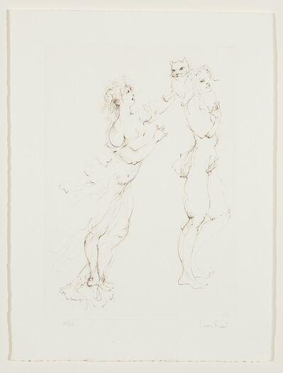 Leonor Fini, 'Les Elus de la nuit (2)', 1986