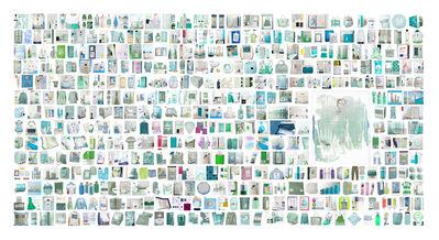 Léonard Bourgois-Beaulieu, 'Googlize my work from color polaroïd of Stella', 2014