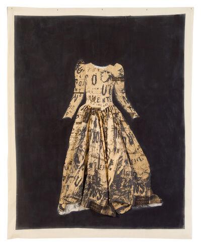 Lesley Dill, 'Clothe My Naked Body (Poem Wedding Dress)', 1995