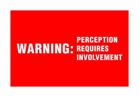 Antoni Muntadas, 'Warning', 2002