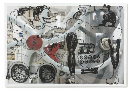 Heri Dono, 'The Hunter With Upside Down Creatures in the Machine', 2015