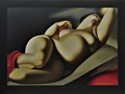 Tamara de Lempicka, 'La Belle Rafaela', 1957