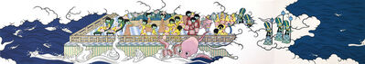 Asuka Ohsawa, 'Space invaders 17-20', 2010