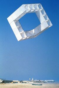 José María Yturralde, 'Estructuras volantes (Serie cubos) ', 1977