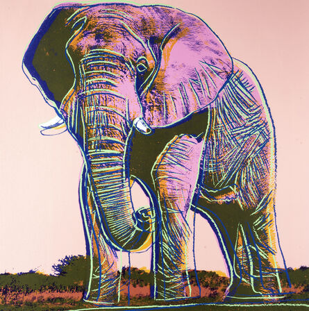 Andy Warhol, 'Elephant, from Endangered Species', 1983
