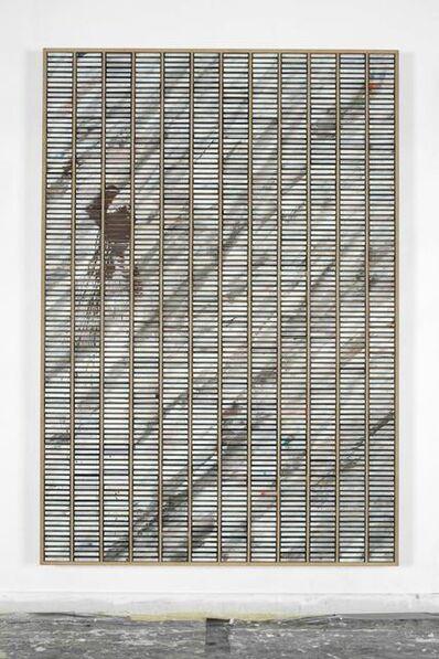 Gregor Hildebrandt, 'KS-Painting mit Marmorierung', 2009