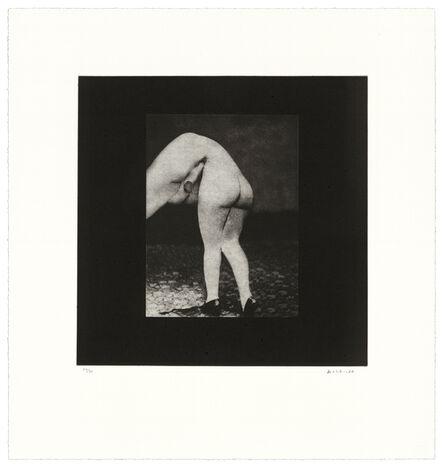 David Lynch, 'Distorted Nude Photogravure #5', 2021