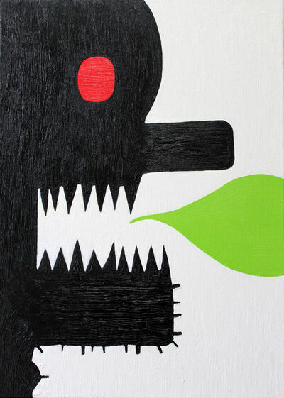 Alex Gene Morrison, 'Teeth Speak Green', 2016