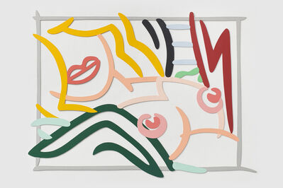 Tom Wesselmann, 'Bedroom Blond, Black and Green Pillows', 1986