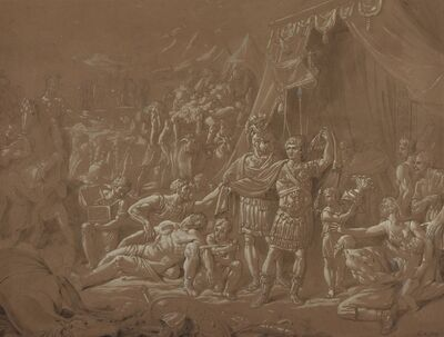 Conrad Metz, 'A Scene from the Life of Trajan', 1817