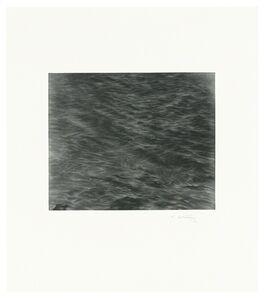 Vija Celmins, 'Untitled (Ocean Mezzotint)', 2016
