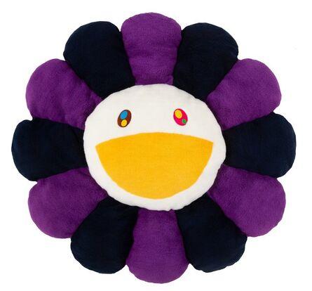 Takashi Murakami, 'Flower Cushion (Navy, Purple, and White)'