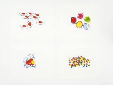 Ulla von Brandenburg, 'Gummy Teeth, Roudoudou, Snoep, Spiegeleier ', 2018
