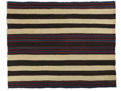'Bayeta First Phase Chief's Blanket', ca. 1840