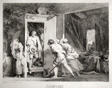 Jean-Honoré Fragonard, 'L'Armoire (2nd State)', 1778