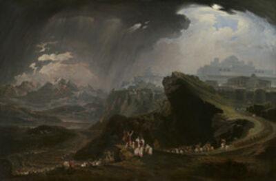 John Martin (1789-1854), 'Joshua Commanding the Sun to Stand Still upon Gibeon', 1816