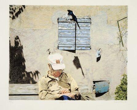 Boyd & Evans, 'Bird/Sundial', 1990