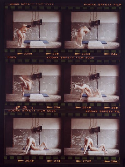 Sorel Cohen, 'After Bacon/Muybridge, Whizzer leg Toss', 1980