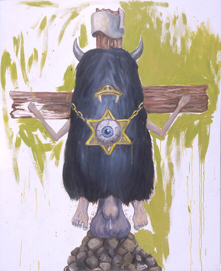Manuel Ocampo, 'Crucified Monster', 2003
