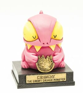 Ronzo, 'Crunchy - The Credit Crunch Monster', 2012