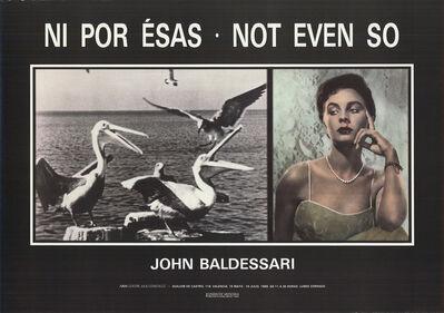 John Baldessari, 'Not Even So', 1989
