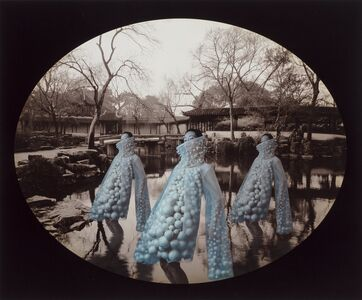 Lin Tianmiao, 'Here? or There? (Complete portfolio with 15 photographs)', 2002