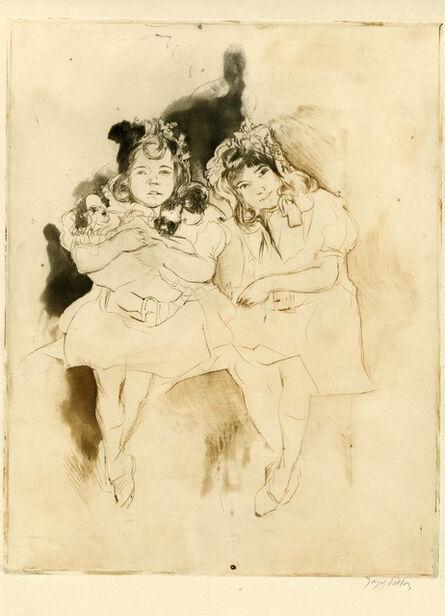 Jacques Villon, 'Mes Petites Amies, les Deux Soeurs', 1904