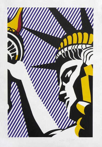 Roy Lichtenstein, 'I Love Liberty', 1982