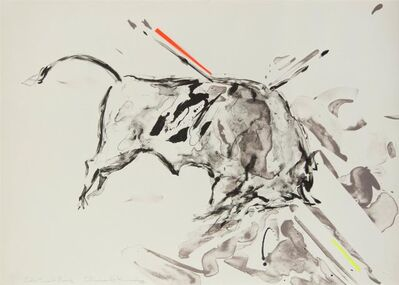 Elaine de Kooning, 'Taurus IX', 1973