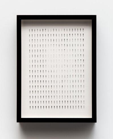 Yuval Pudik, 'Multiple Firm Certainties', 2018