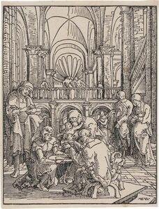 Wolf Huber, 'THE CIRCUMCISION (BARTSCH 3)', circa 1512-13 or circa 1521