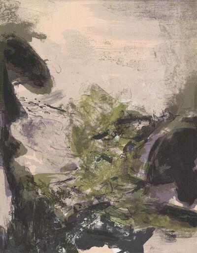 Zao Wou-Ki 趙無極, 'Untitled', 1971